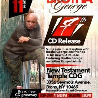 Brotha George CD Release Party